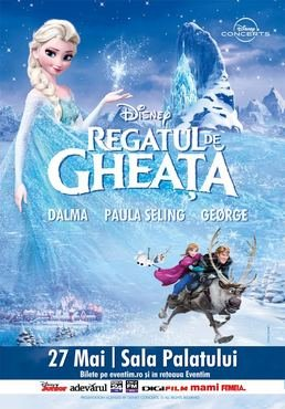 Disney in Concert - Frozen cu Orchestra Simfonic Bucuresti