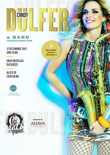 Regal pop-jazz-funk cu Candy Dulfer, in premiera la Bucuresti