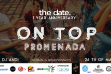 thedate. sarbatoreste un an de la lansare cu un eveniment grandios pe rooftop-ul Promenada