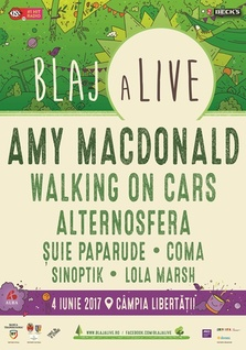 Amy Macdonald, Walking On Cars, Lola Marsh, @ BlajaLive 2017
