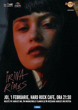 Concert Irina Rimes pe 1 februarie
