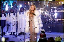 Mariah Carey si-a luat revansa de Revelion (video)