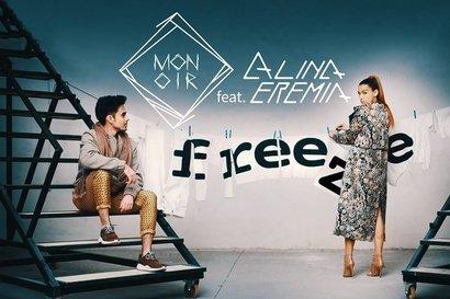 Monoir feat. Alina Eremia - Freeze (videoclip nou)