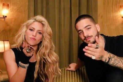 Shakira - Trap feat. Maluma (videoclip nou)