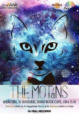 The Motans canta la Hard Rock Cafe
