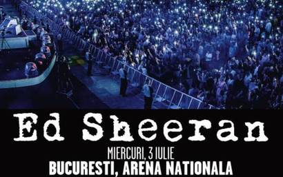 Primul concert Ed Sheeran in Romania – 3 iulie 2019, pe Arena Nationala