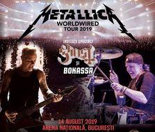 """Turneul Metallica """"Worldwired"""" ajunge si in Romania in 2019"""