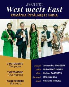 West meets East – Romania intalneste India in trei concerte extrardinare in Timisoara, Cluj-Napoca si Bucuresti