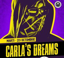 Concert Carla's Dreams in octombrie la Beraria H