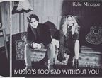 Kylie Minogue arata senzational in videoclipul noului ei single, Music's Too Sad Without You