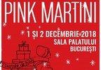 Sezonul concertelor de iarna se deschide cu Pink Martini la Sala Palatului