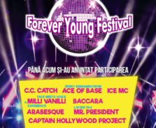Ace of Base, C.C Catch, Milli Vanilli si Mr. President concerteaza la Forever Young Festival 2019