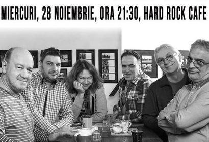 Nicu Alifantis & Zan in concert la Hard Rock Cafe