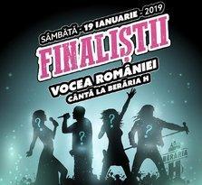 Finalistii Vocea Romaniei 2018 la Beraria H