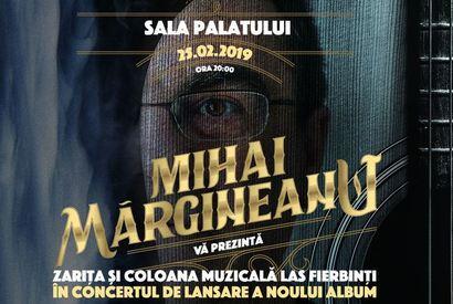 Concert Mihai Margineanu la Sala Palatului