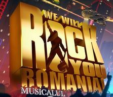 "Varianta romaneasca a musicalului Queen ""We Will Rock You"" in aprilie la Sala Palatului"