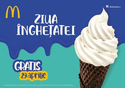 Ziua Înghețatei la McDonald's