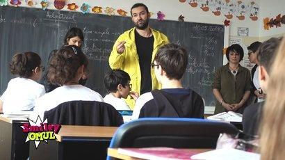 Smiley - mega surpriza pentru un copil de la o scoala din Bucuresti