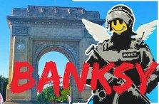 Banksy, expozitie controversata in Arcul de Triumf