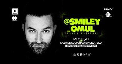 Smiley va sustine al doilea concert la Ploiesti