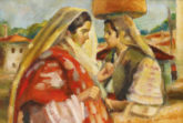 Singurul tablou romanesc din colectia IBM va fi expus in cadrul Licitatiei de toamna – Top 100 Mari Maestri ai Artei Romanesti