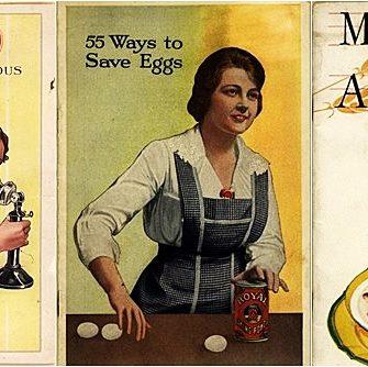 82 de carti de bucate vintage disponibile gratuit, cu retete fascinante