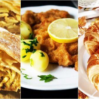 Special Ziua Austriei. Croissant-ul a fost inventat de austrieci, iar snitelul vienez e o reteta italiana. Domnitorul roman Serban Cantacuzino a intervenit pentru redefinirea Vienei gurmande