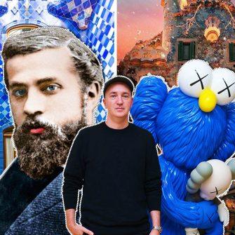 O plimbare cu ajutorul realitatii augmentate in Casa Batlló a lui Gaudi realizata de artistul KAWS