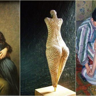 """""""Venus de la Draguseni"""" – una dintre cele mai frumoase sculpturi inchinate femeii mama – este expusa la Muzeul Judetean Botosani. Alte opere de arta care pun accentul pe ideea de maternitate"""