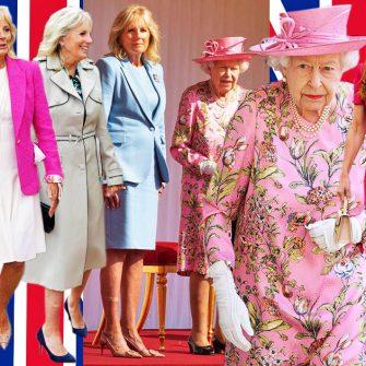 (galerie foto) Tinutele purtate de Regina Elisabeta, Prima Doamna Jill Biden si Kate Middleton in primele intalniri oficiale.